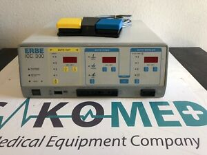Erbe Icc 300 Electrosurgical Unit With Foot Switch tested
