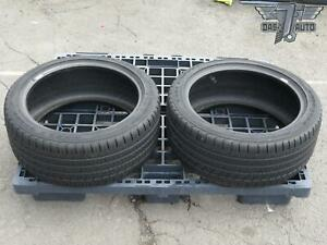 Two 2 Goodyear Eagle Sport As 245 40 R18 Set Of 2 Tires High Tread