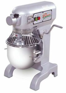 Primo Pm 10 Planetary Meat Mixer 10 Qt Bench Model Gear Driven Transmission