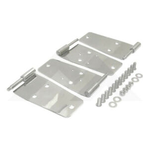 Door Hinges Stainless For Jeep Cj 76 86 Wrangler 87 1993 Yj Rough Trail Rt34008