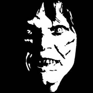 Exorcist Girl Horror Vinyl Decal sticker For Car Truck Bumper Wall Decor