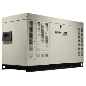 Generac Rg06024anax 60kw 120 240 Volt Natural Gas Automatic Standby Generator