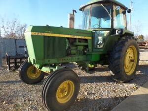 John Deere 4230 Tractor W Cab Heat A c Incredible Original