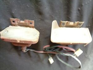 1963 Pontiac Bonneville Catalina Grand Prix Star Chief Parking Lights Lamps L R
