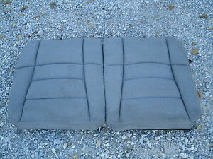 98 94 98 Ford Mustang Rear Upper Seat Cushion Cloth Color Code Z2 Grey