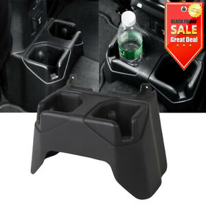 For Jeep Wrangler Jl 2018 Car Rear Seat Water Cup Holder Car Accessories Black