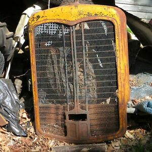 Fwd Truck Grille 1937 38 39