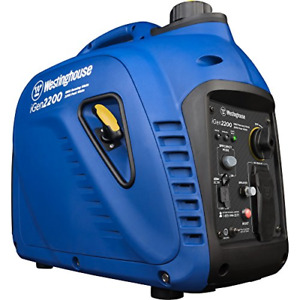 Quiet Portable Inverter Generator 1800 Rated Watts And 2200 Peak Gas Powered New
