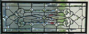 Stained Glass Transom Window Hanging 34 1 2 X 13 1 2