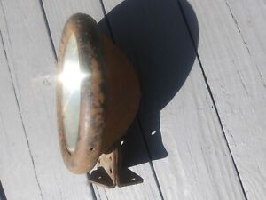 Early Model T Headlight Headlamp 10 Fender Mounted With Bracket Stand