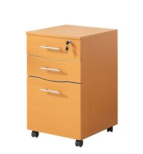 Mmt 3 Drawer Mobile File Cabinet With Lock Filing Cabinet Wheel Office Furniture