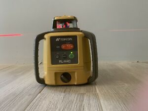 Topcon Rl h4c Red Beam Rotary Self Leveling Laser unit Only