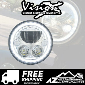 Vision X 7 0 Motorcycle Xmc Led Lighting Headlight 4210lm 42w 9892061