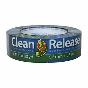Duck Clean Release Blue Painter s 1 41 Inch X 60 Yards single Roll
