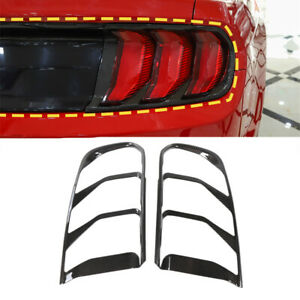 Car Rear Taillight Decoration Tail Lamp Cover For Ford Mustang 2018 Accessories