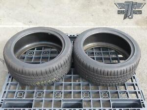 Two 2 Michelin Pilot Sport A s 3 225 45 R17 Set Of 2 Tires High Tread