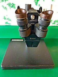 Stereo Zoom Microscope W bausch Lomb Stand