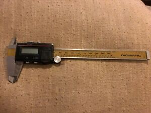 Mitutoyo 6 Digital Caliper 500 351 Absolute Digimatic
