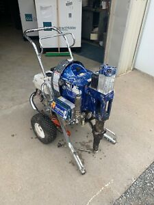 Graco Hydramax 300 Hydraulic Airless Paint Sprayer 9 Hp Honda Unit 2