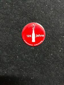 PIN COCA COLA 125 YEARS JAHRE
