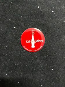 PIN COCA COLA 125 YEARS JAHRE #2