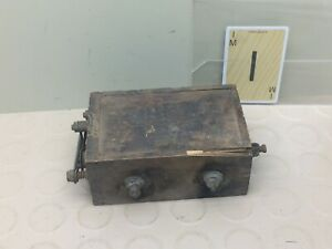 Vintage Ford Model A Model T Wood Box Battery Ignition Coil