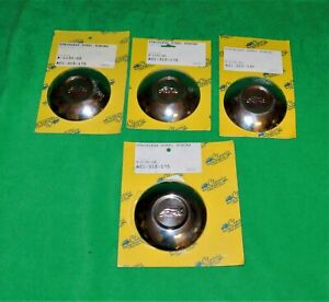 1930 1931 Ford Model A Wire Wheel Set Of 4 Hubcaps Deluxe Roadster Stainless