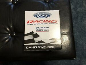 Shelby Gt 500 Ford Racing High Performance Oil Filter Fl820 4 6 5 0 5 4 5 8