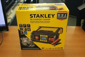 Stanley Bc50bs 15 Amp Battery Charger With 50 Amp Engine Start
