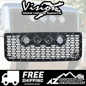Vision X Light Cannon Vs Grille W Lights For 15 Gmc Sierra 2500 3500 5262154