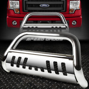 For 05 07 Ford Superduty Excursion Suv Chrome Bull Bar Push Bumper Grille Guard