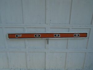 Ford Pickup Tailgate Trim Panel Vintage 1973 79