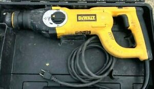 Dewalt D25213k D handle Three Mode Sds Plus Hammer Drill With Case 100 Working