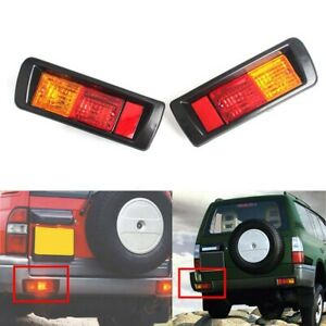 Car Led Warning Brake Fog Lamps Rear Bumper Reflector Light For Toyota 97 02