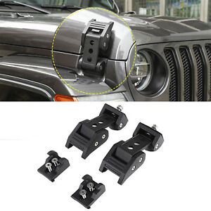 For Jeep Wrangler Jl Jt 2018 2020 Accessories Hood Latch Locking Catch Buckle