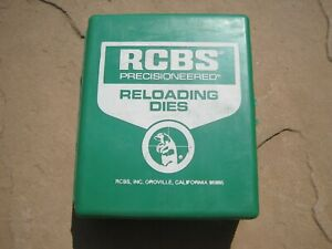 RCBS 45 ACP RN  3-DIE RELOADING SET PART# 18905 RELOADING EQUIPMENT TOOL