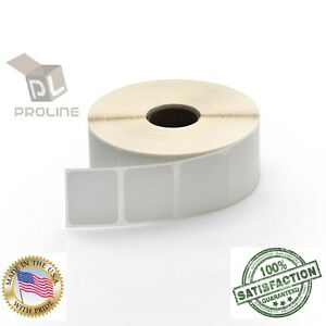20 Rolls 1 5x1 Direct Thermal Shipping Labels 1375pr For Zebra Gx420t Lp2824