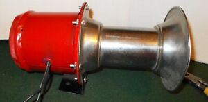 Vintage Working Hutchins 12 V Restored Ahogooa Horn Loud Hot Rod Rat Rod