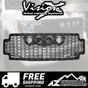 Vision X Light Cannon Vs Grille W Lights For 17 Ford Superduty 5062174