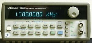 Agilent Hp 33120a Function arbitirary Waveform Generator misc certified