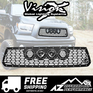 Vision X Light Cannon Vs Grille W Lights For 16 18 Toyota Tundra 5360164