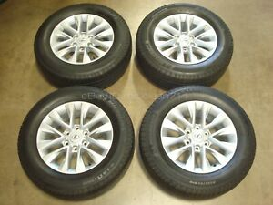 18 2014 19 Lexus Gx460 Wheels Rims Tires Oem Factory Silver 74297 Gx Set