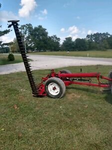 Ih 7ft Pull Type Sickle Bar Mower With New Teeth 225 00 Shipping