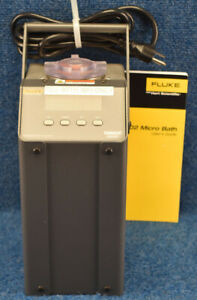 Fluke 6102 6102 23059t Micro Bath Thermocouple Rtd Calibrator