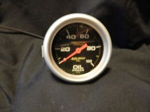 Auto Meter Pro comp Oil Pressure Gauge Liquid Filled 100 Psi 5421