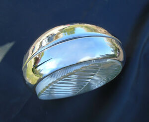 Nice 50 s Vintage Mercedes Benz Hella 5 Single Driving Fog Light From Ponton