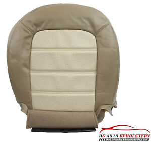 2004 2005 Ford Explorer Eddie Bauer Driver Bottom Vinyl Seat Cover 2 Tone