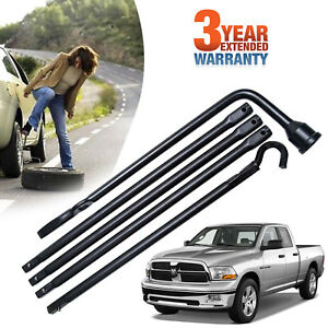 New Spare Tire Lug Wrench Extension Jack Tool Kit Set For Dodge Ram Truck Pickup