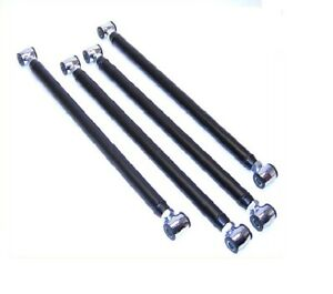 Four 4 Link Bars Only 24 Center To Center Air Ride Suspension Lh And Rh Threads