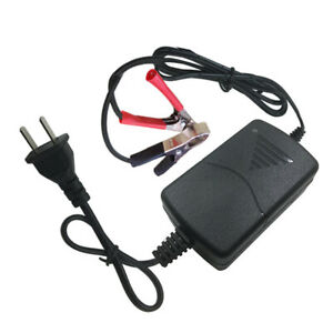 Battery Charger Maintainer 12v 1a Volt Trickle Rv Car Truck Motorcycle Mower Al